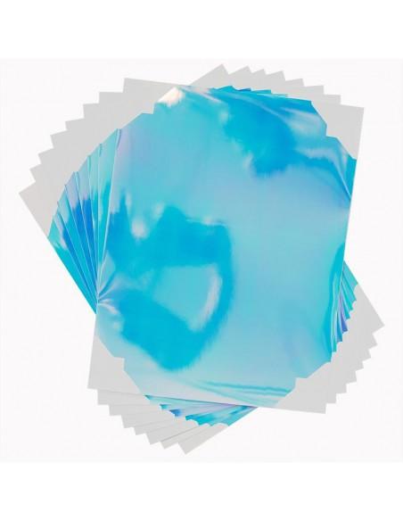 Sticker Paper Iridiscente Silhouette