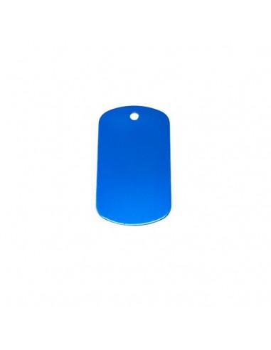 Chapa identificativa para grabar tamaño grande (x10)