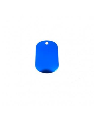 Chapa identificativa para grabar tamaño pequeño (x10)