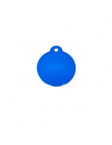 Chapa identificativa para grabar forma de bola (x10)