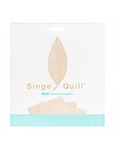 Láminas de madera para Singe Quill We R Memory Keepers