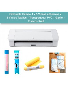OFERTA FLASH: Silhouette Cameo 4 + lote materiales por valor de 87€