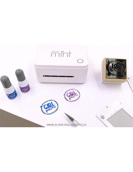 Lámina para sellos con Silhouette Mint