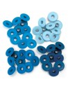 Pack 40 ojales aluminio azules We R Memory Keepers