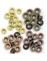 Pack 60 ojales estándar metálicos tonos cobre We R Memory Keepers