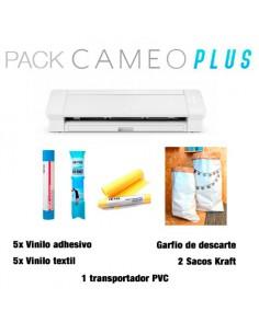 PACK PLUS: Silhouette Cameo 4 Plus + lote materiales 87€