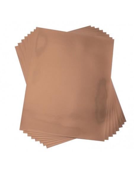 Etiquetas (Foil) Imprimibles Rose Gold