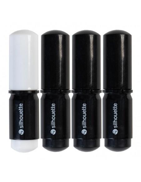 Rotuladores. Blanco y negro