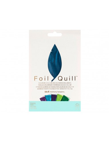 Kit De Foil Peacock Para Foil Quill We R Memory Keepers