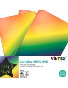 Cartulina Arco Iris imprimible VINTEX