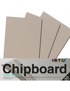 Chipboard 20 hojas VINTEX