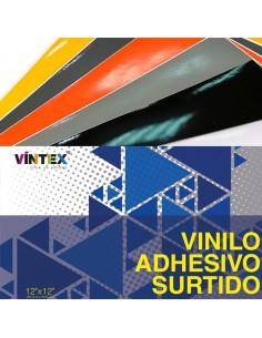 Vinilo Adhesivo - Surtido 10 hojas 30x30cm VINTEX
