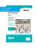 Papel fotográfico adhesivo inkjet pack 100 hojas VINTEX