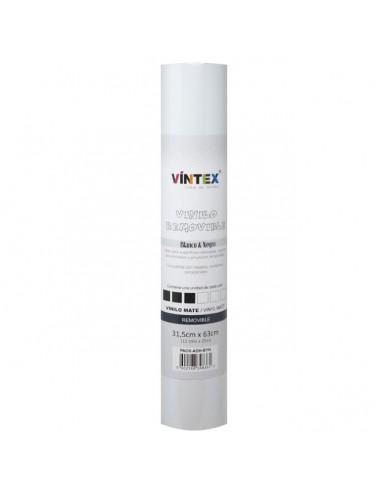 Pack vinilo adhesivo removible Blanco y negro VINTEX