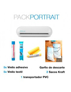 Pack Portrait 2: Silhouette Portrait + lote de materiales