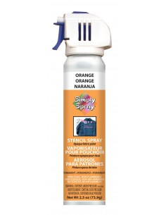Simply Spray Stencil Paint Orange