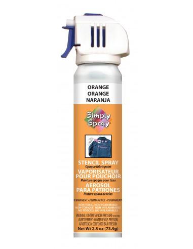 Simply Spray Stencil Paint Orange...