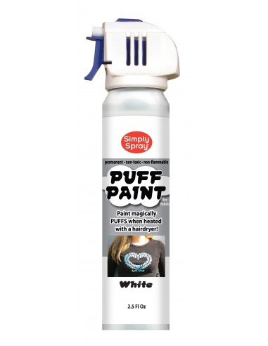 Puff Stencil Paint Blanco Simply Spray