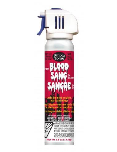 Simply Spray  Sangre Falsa para tejidos, plástico o cristal