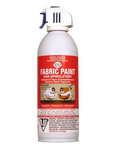Upholstery Spray Paint Burnt Orange...