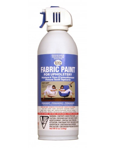 Upholstery Spray Paint Periwinkle...