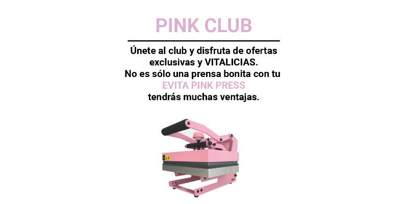 Házte del Pink Club comprando la Evita Pink Press