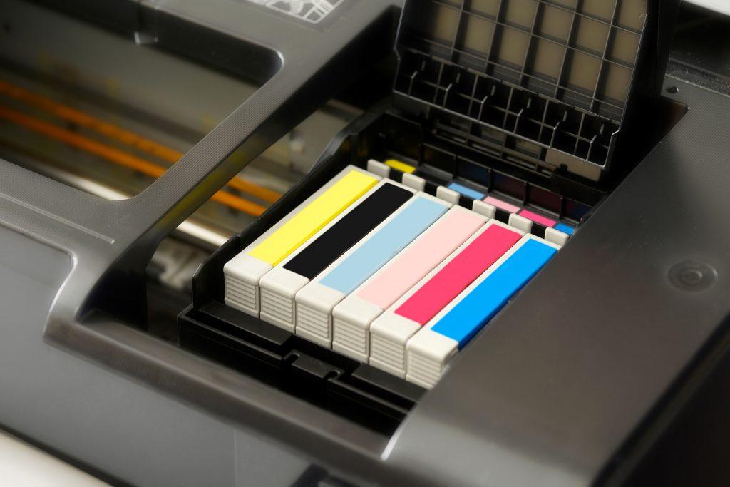 Cartuchos de tinta de impresora inkjet