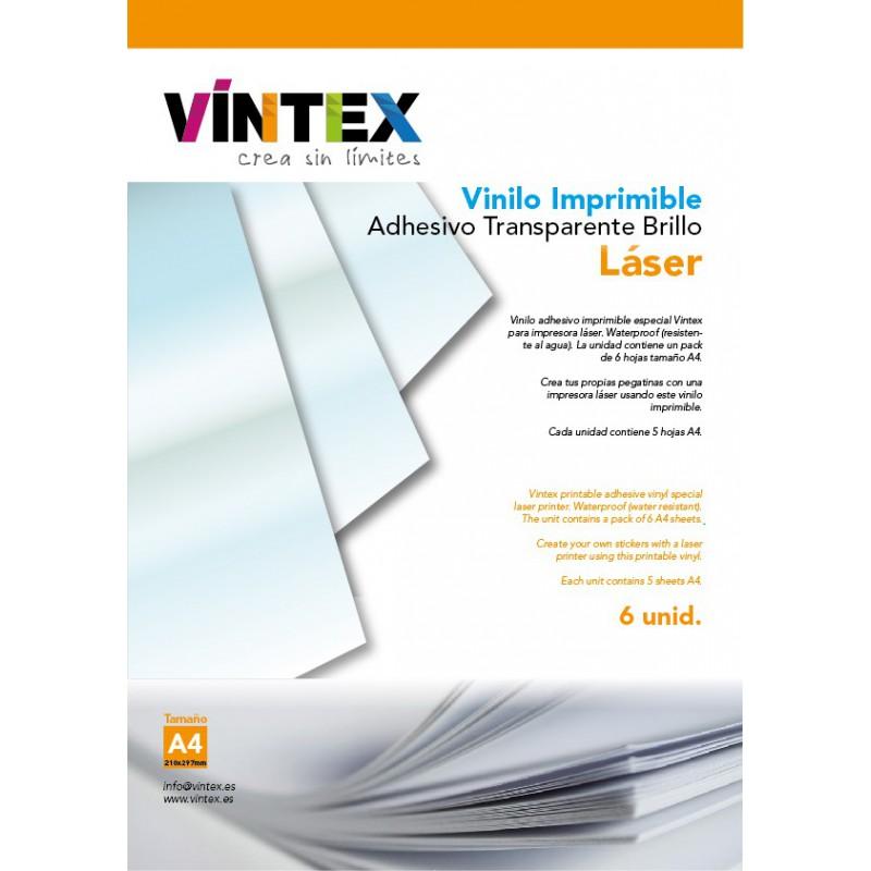 vinilo imprimible transparente láser
