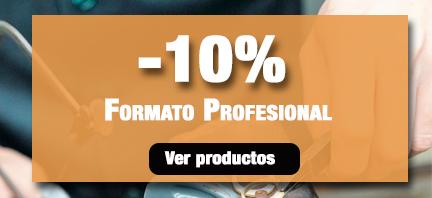 -10% Formato profesional