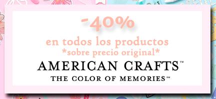 40% En american crafts